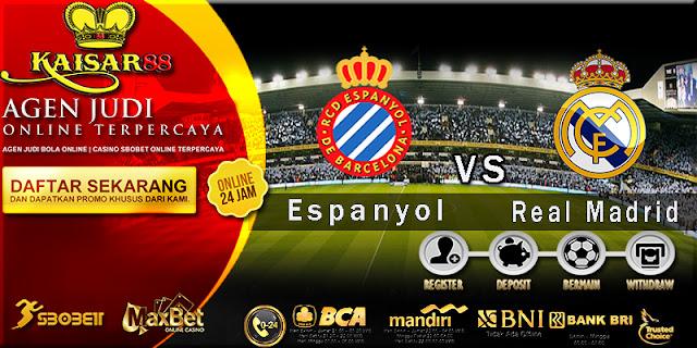 Prediksi Bola Jitu Espanyol vs Real Madrid 28 Februari 2018