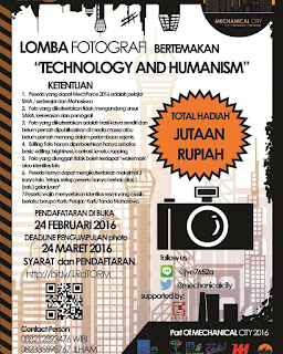 Lomba Fotografi - Technology and Humanism