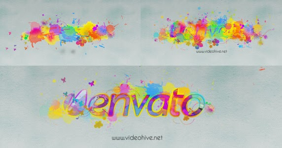 Videohive logo revealer paint drops design free download for Aep templates free download