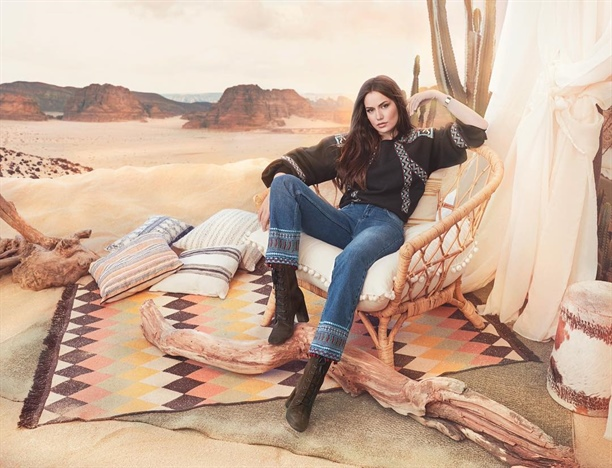 KOTON JEANS: Fahriye Evcen face reclama la blugi {featured}