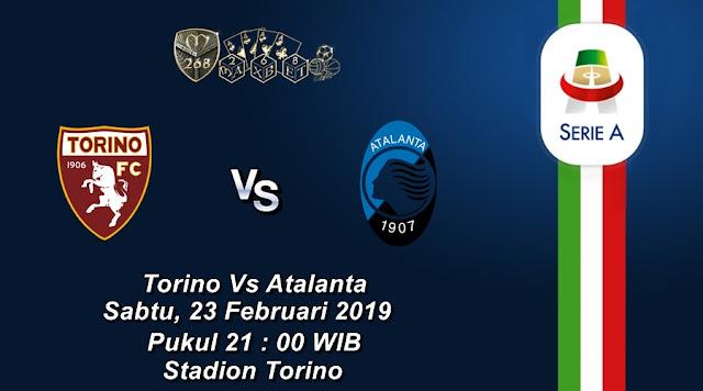 Prediksi Torino Vs Atalanta, Sabtu 23 Februari 2019 Pukul 21:00 WIB