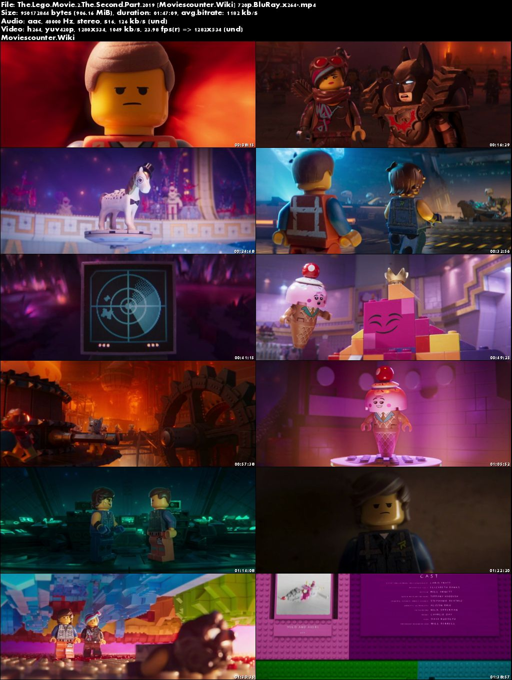 Screen Shots The Lego Movie 2: The Second Part 2019 English HD 720p