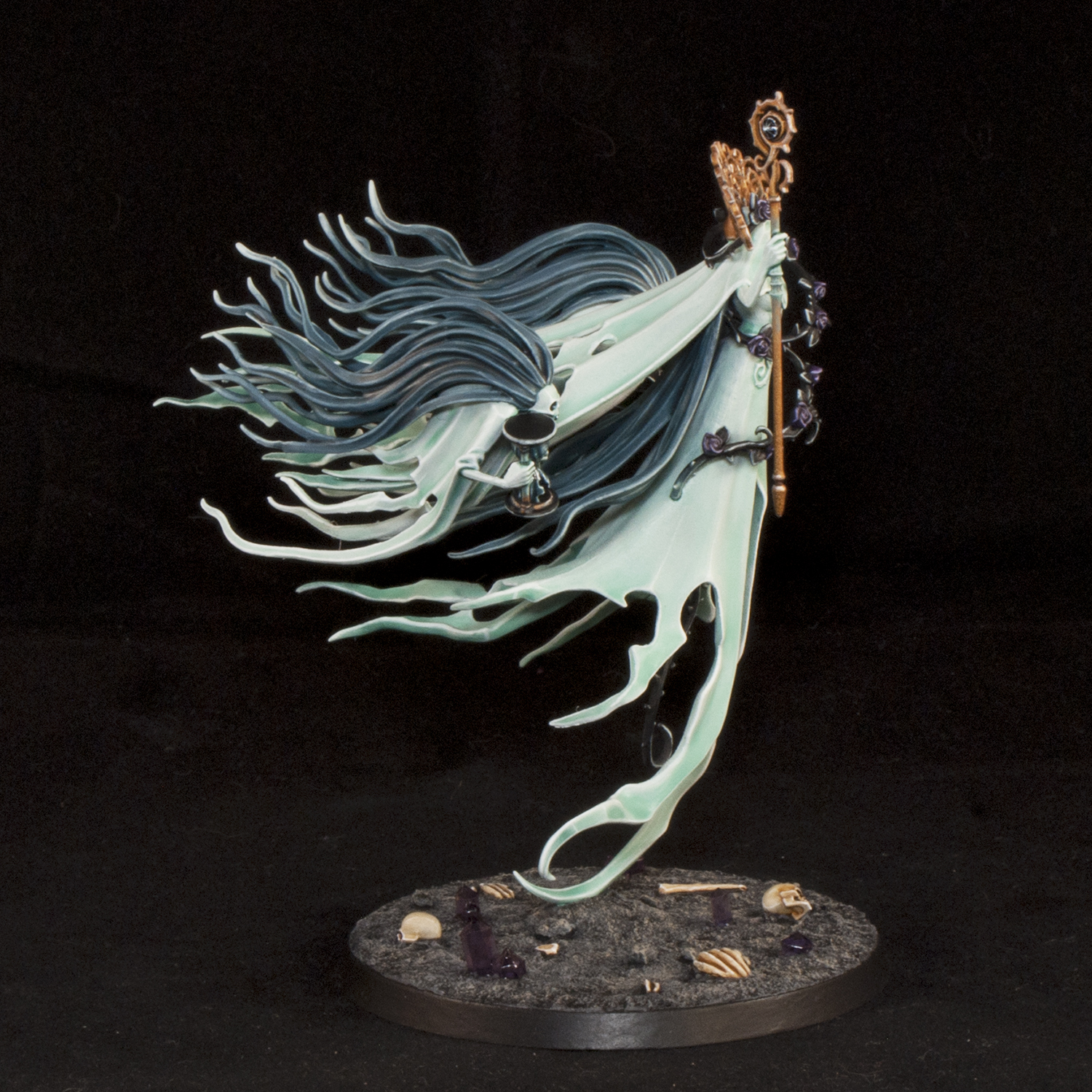 Mengel Miniatures: GALLERY: Lady Olynder, Mortarch Of Grief