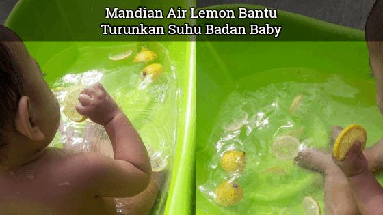 cara hilangkan panas badan bayi