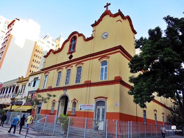 Vista da fachada da Paróquia São Gonçalo - Sé/Liberdade - São Paulo