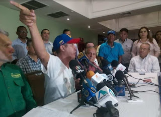 Henri Falcón en Maracaibo: Nada nos va a sacar de la calle