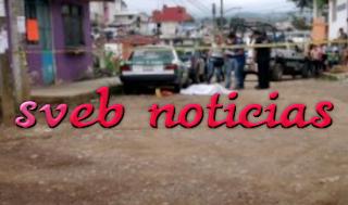 Matan a puñaladas a un hombre en colonia Los Prados de Xalapa Veracruz