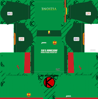 Selangor FA 2019 Kit - Dream League Soccer Kits