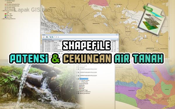 Shapefile Potensi dan Cekungan Air Tanah Data Kementerian ESDM