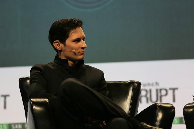 Pavel Durov - nhà đồng sáng lập, CEO của Telegram