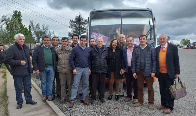 Plan piloto de monitoreo de transporte de pasajeros en Osorno