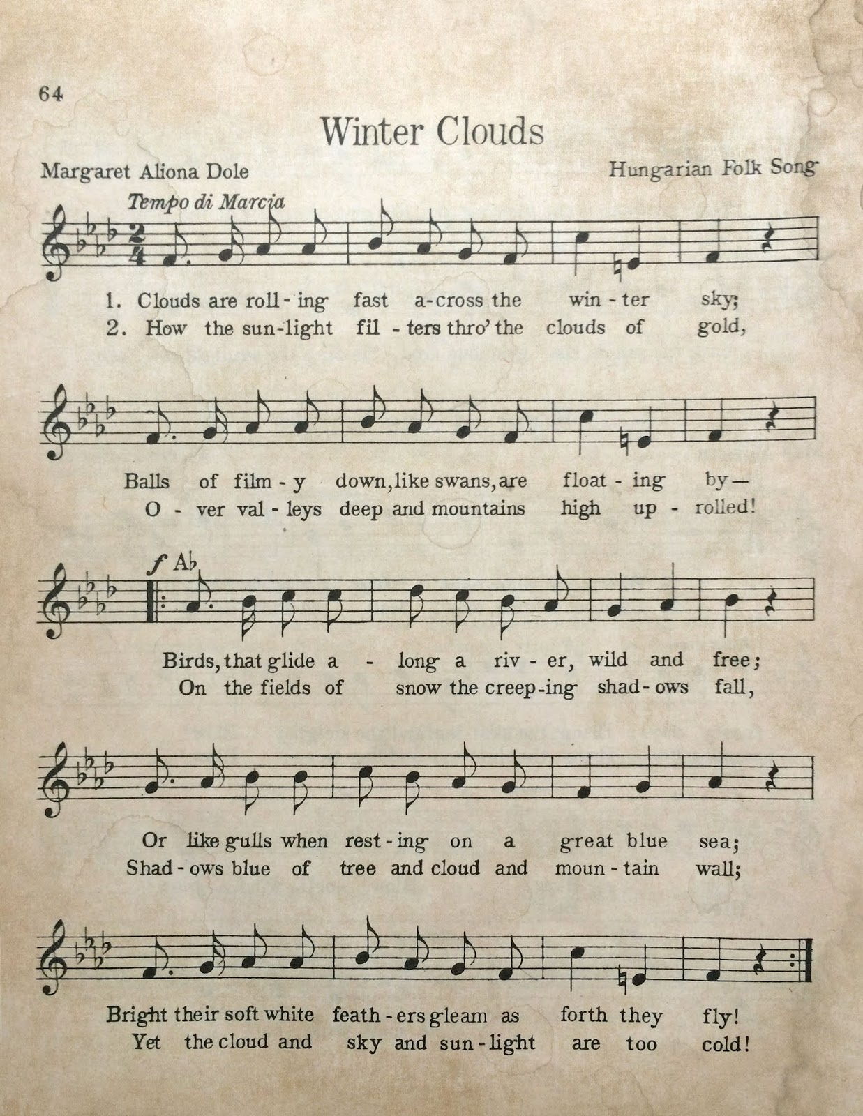 image about Vintage Sheet Music Printable called My Porch Prints: Freebie Friday: Basic Sheet Songs