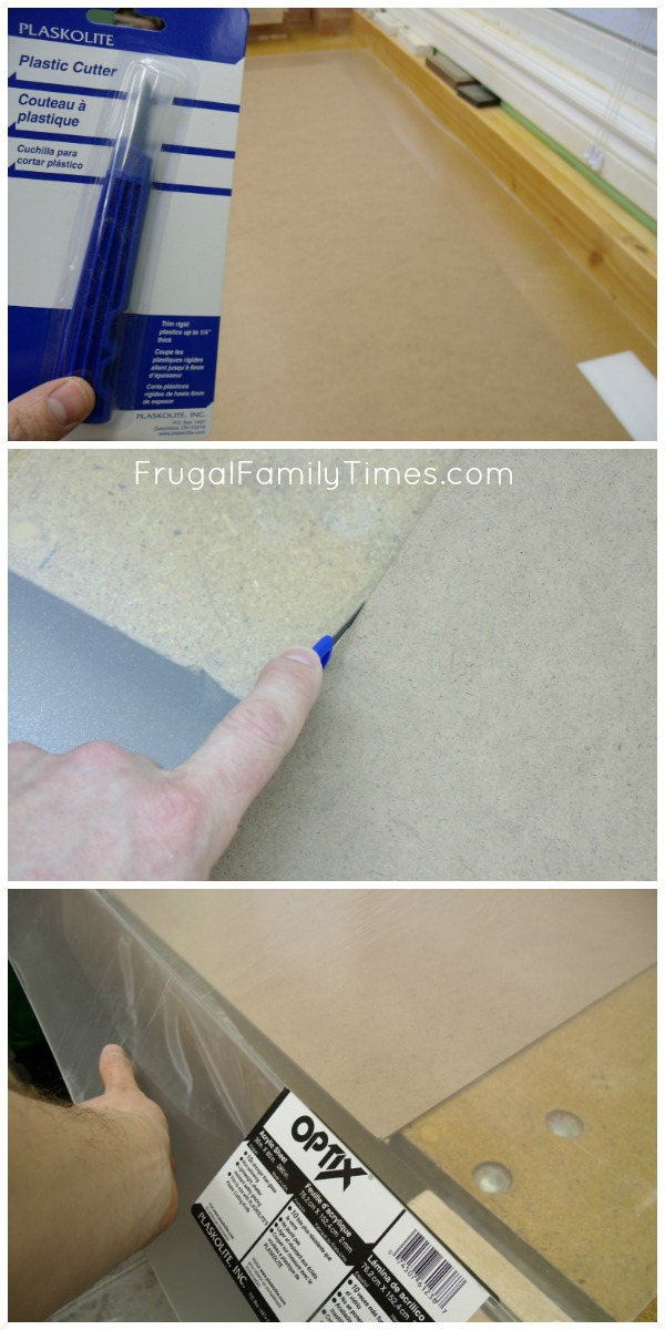DIY Poster frame cut to size