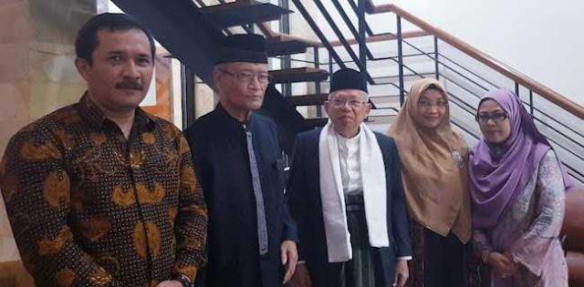 Saran Buya Syafi'i, Ma'ruf Amin Jangan Hanya Bawa Islam Nusantara