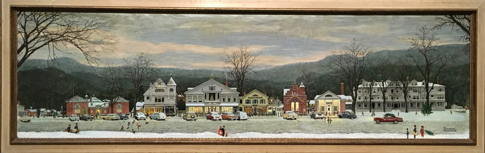 Life From The Roots: Christmas on Main St. with Norman Rockwell in ...