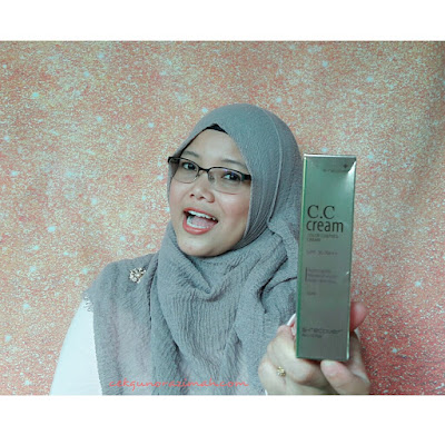 cc cream terbaik, gold nano cc cream,  Gold Nano CC Cream Review, hansaegee nature, cara guna cc cream,
