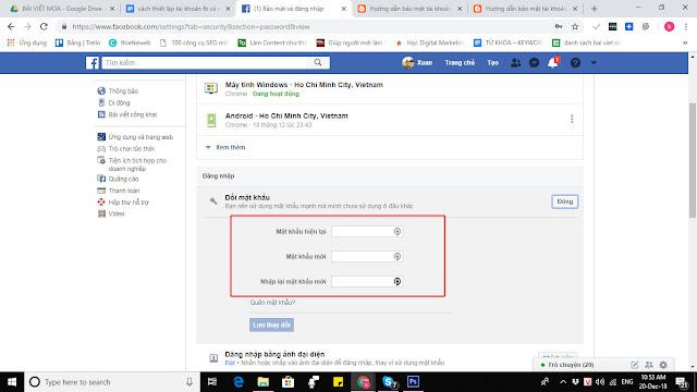 Học nhanh các thủ thuật bảo mật Facebook