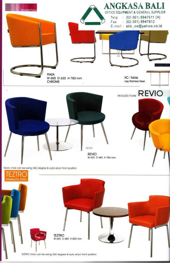 Angkasa bali jual kursi kantor meja kerja furniture for Sofa bed yang bagus merk apa