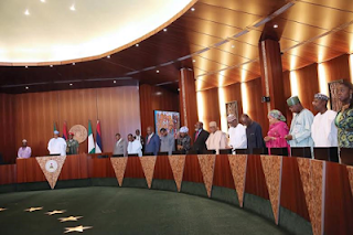 , See What Happened When President Buhari presided over Executive Council meeting, Latest Nigeria News, Daily Devotionals & Celebrity Gossips - Chidispalace