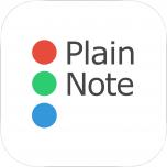 https://itunes.apple.com/jp/app/plain-note-memotonoto-wu-liaodekantan/id1099847685?mt=8