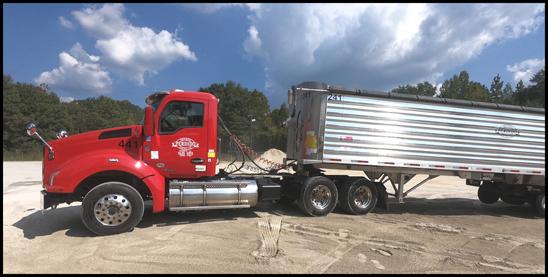 Perdido Trucking Service Kenworth T880