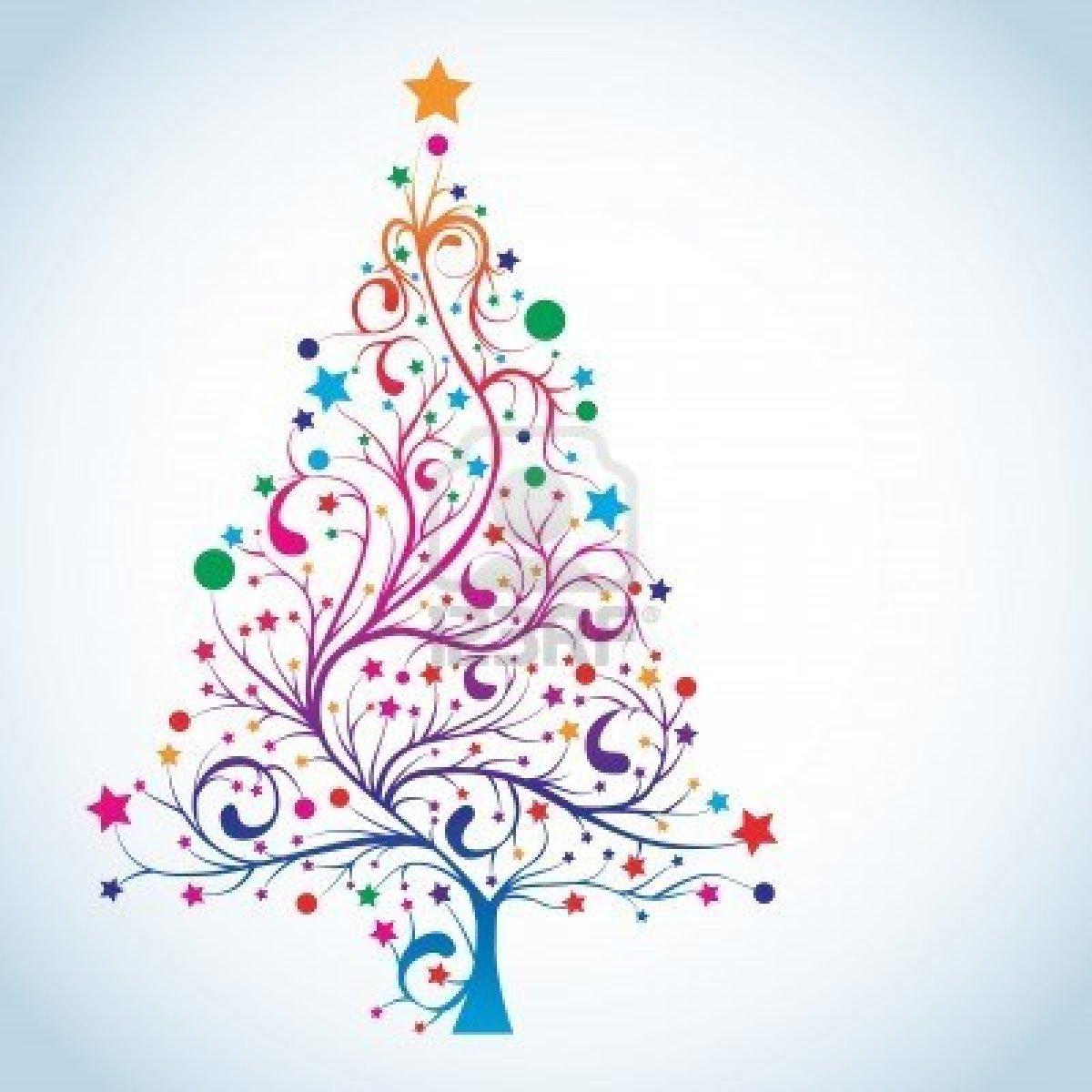 Rainbow Christmas Trees: The Pisces, The Dragon & The Phoenix: Dear Santa