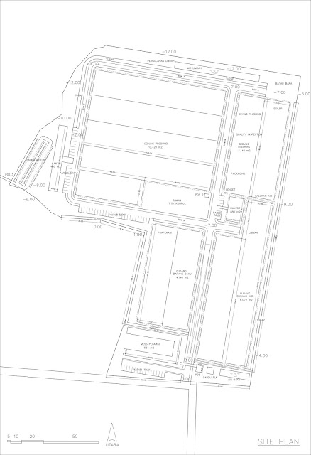 site plan industri