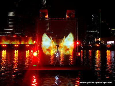 The Dubai Fountain Fire 2