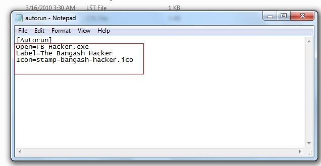 darkweb: How to make Autorun file for USB Drive