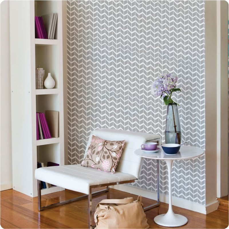 Apartment Wallpaper: Lah-Ti-Do: Removable Wallpaper