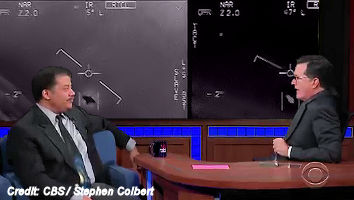 Astrophysicist, Neil deGrasse Tyson Discusses The Pentagon UFO Program on Colbert