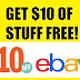 EXPIRED!!  $10 OF FREE STUFF FROM EBAY!! $10 off $10 Purchase Coupon = Free Stuff