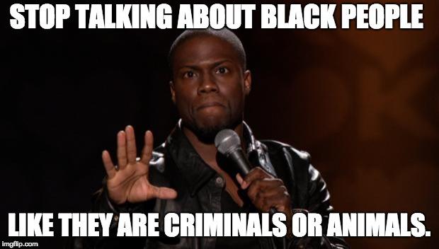 Black people talk