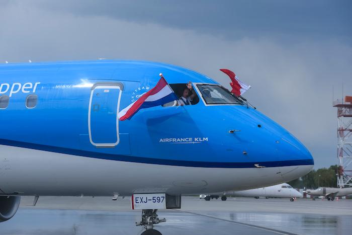 KLM z Wrocławia, KLM, linie lotnicze, KLM Wrocław Amsterdam,