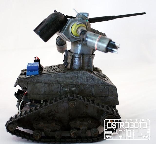 Remote tank