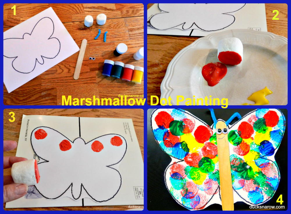 Marshmallow Crafts For Preschoolers