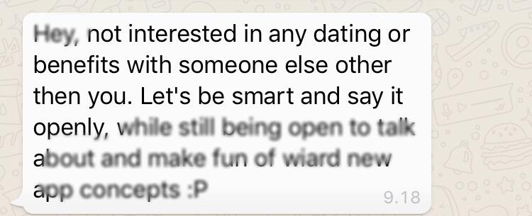 erottaa ulos dating App