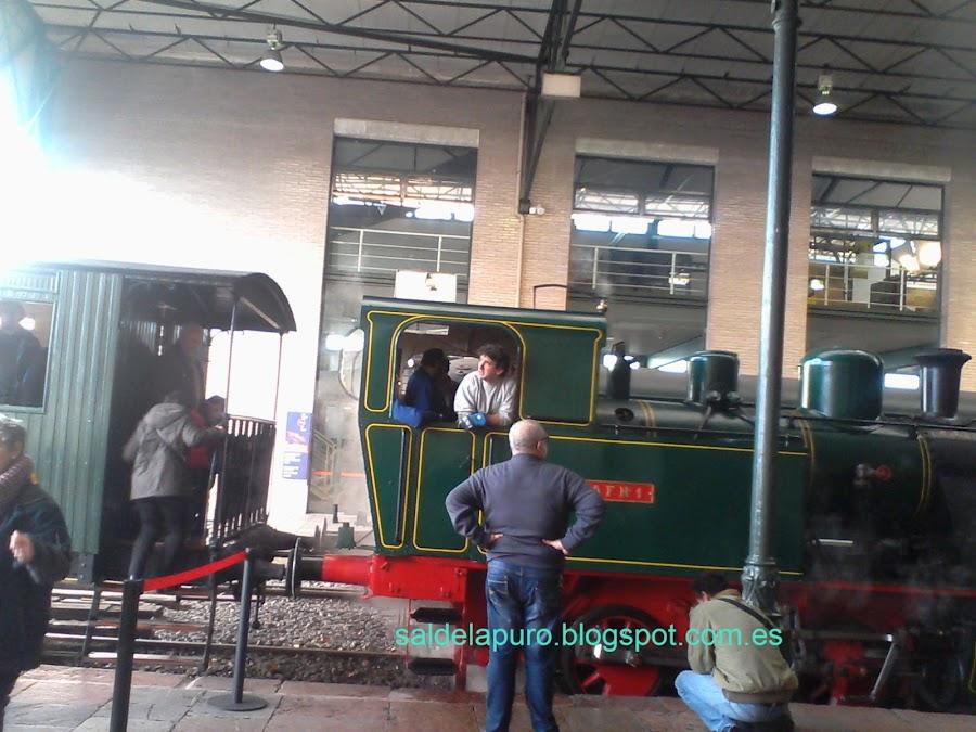 tren de vapor