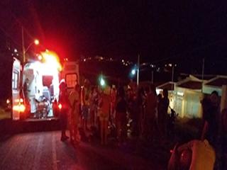 Grave acidente é registrado na noite desta terça (08), em Picuí