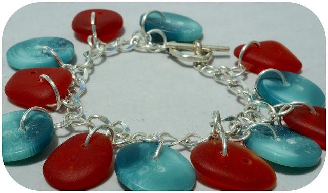 Southwest Colored bracelet by BayMoonDesign