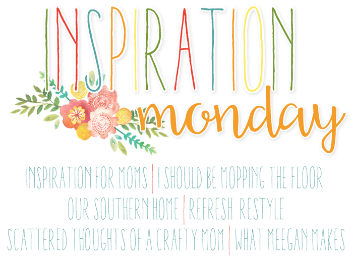 Welcome to the Inspiration Monday Party! Come link up!