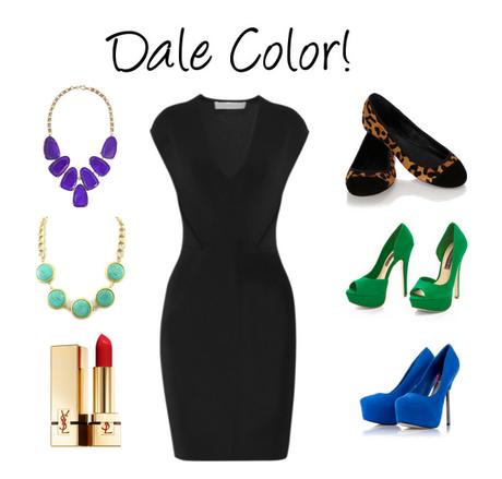 Combinaciones de accesorios para vestido negro