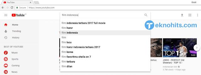 Download film Indonesia dari youtube