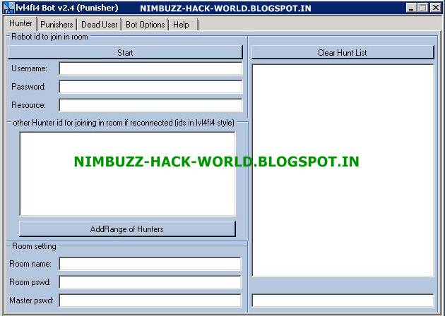 download bot nimbuzz for mobile java