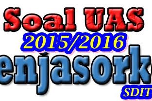 SOAL UAS PENJASKES, PENJASOKERS + KUNCI JAWABAN 2013