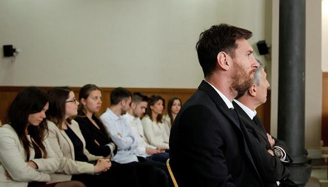 هكذا تم الحكم بالسجن 21 شهرا ليونيل ميسي وأبيه