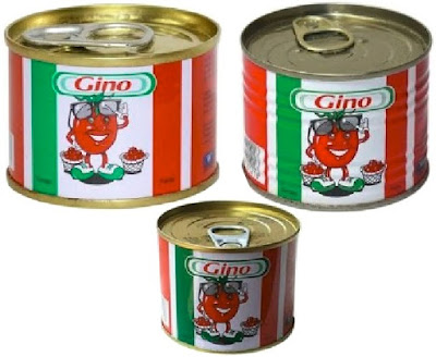 Gino Tomatoes: Tinned Concentrated Tomato Pastes - Naija Grocery