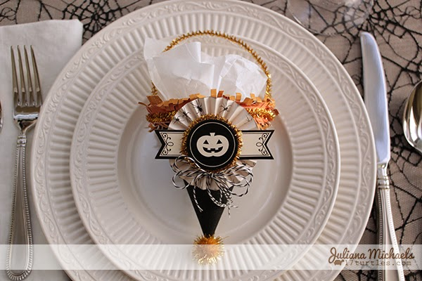 Halloween Treat Cones by Juliana Michaels