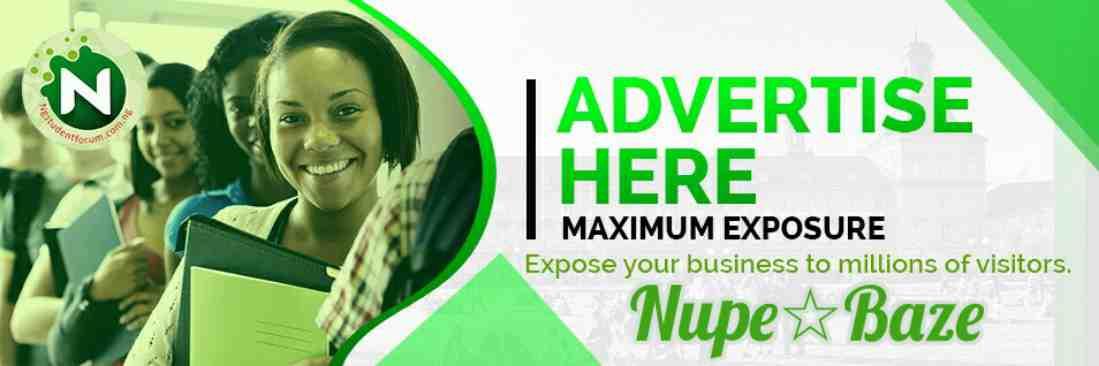 NupeBaze Advertisement