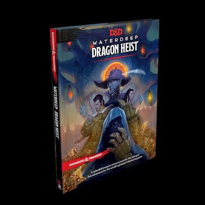 Waterdeep: Dragon Heist Cover
